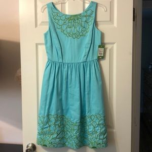 NWT Lilly Pulitzer Eryn dress embroidered size 6